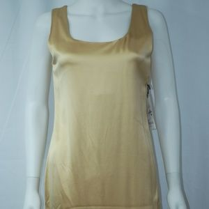 NWT Gorgeous Gold Dress Sz S